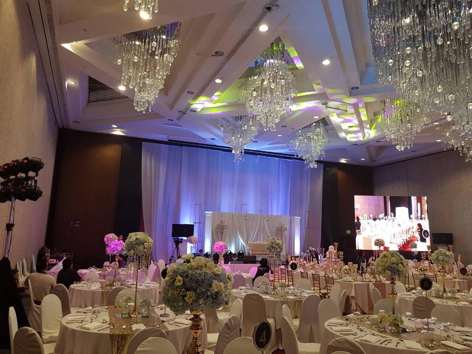 Exile Inc Lights and Sounds Wedding Reception