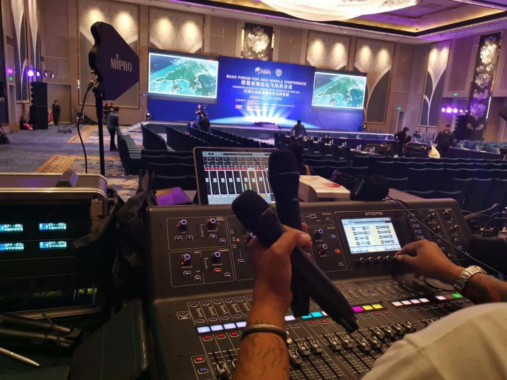 Sound System for a Forum
