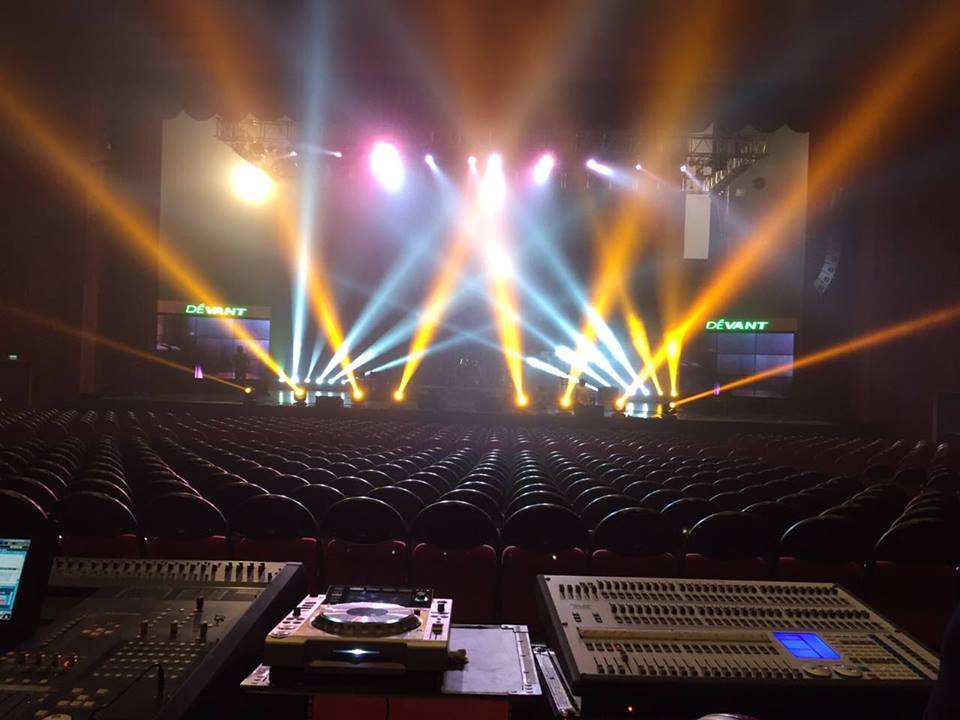 Exile Inc. Lights and Sounds for Patti Austin Concert